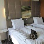 Komfortabele Zimmer