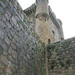 Dentro del Parador, el Castillo de Oropesa