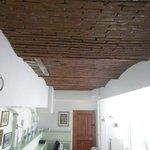 Detalle de parte del techo
