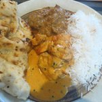 Curries, rice & naan