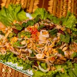 Fish with Thai herbs