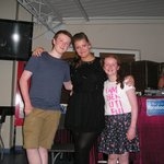 RJP Entertainment star Danielle and two lovely children at Villamarina Club, Salou
