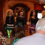 Irish Dancers at a Céilidh
