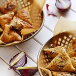 Our famous Samsa with lamb