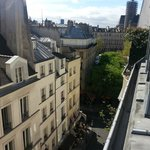 View from the 6th floor, Hotel Bourg Tibourg