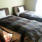 Bed room(妻と娘でトリプルを使用。ベッドは4つは入るようです)