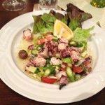 Seafood Salad with Asparagus