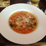 Minestrone with Parmesan