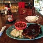 St. Louis pork ribs half rack