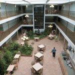 Hall interna all'albergo