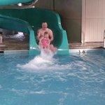 The HUGE water slide