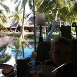 Restaurant in hotel:)