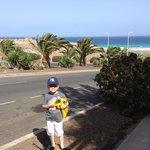 Raod to beach:)