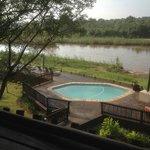 Pool and Sabi River