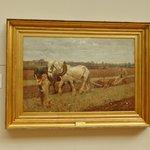 Ploughing , 1889 Sir George Clausen.
