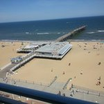 View from our balcony right on the boardwalk