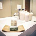 Aveda Amenities in Bathrooms