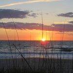alba sulla spiaggia dalla suite