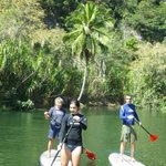 try it anyone can do paddleboarding