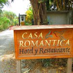 Entrance to Casa Romantica