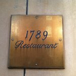 1789 Restaurant Entrance