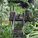 khmer house balcony
