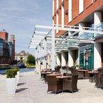 Granary Lounge terrace