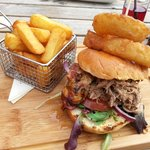 Pulled pork gourmet sandwich! Why don't all sandwiches look like this?!
