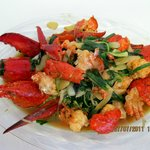 STIR-FRY LOBSTER WITH GINGER & GREEN ONION