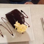 chocolate fudge cake, yum yum