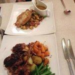 pork and lamb dish, yum yum