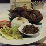 Duck Balinese style