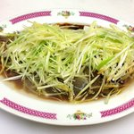 STEAM FISH WITH GINGER &GREEN ONION