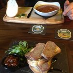 The Goulash soup & the terrine - both amazing !!!!