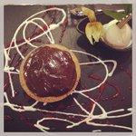 Tortino cioccolato e crema in diretta dal Milano37! Buon appetito!