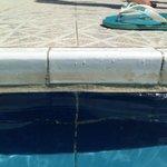 Dirty children's pool