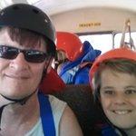 Offroading in a school bus!