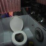 Bus toilet