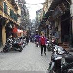 Tạ Hiện street