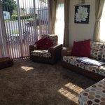 Living room in platinum