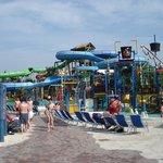 le parc aquatique a cote du parc