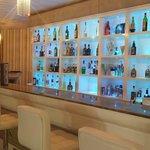 The fantastic bar area