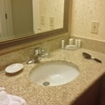 bathroom vanity downstairs