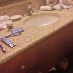 bathroom vanity upstairs
