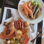 some sea food