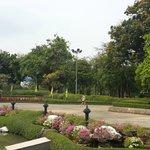Парк ,не далеко от отеля