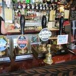 Typical range of beers.