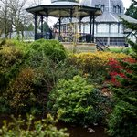 Band Stand in Buxton Park