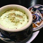 Kulfi Pistachio flavoured ice cream