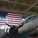Restoring an old jet at the museum